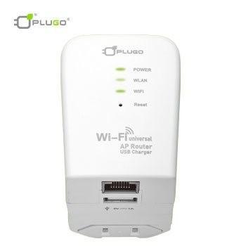 PLUGO 多國用無線分享USB充電器(路由器)