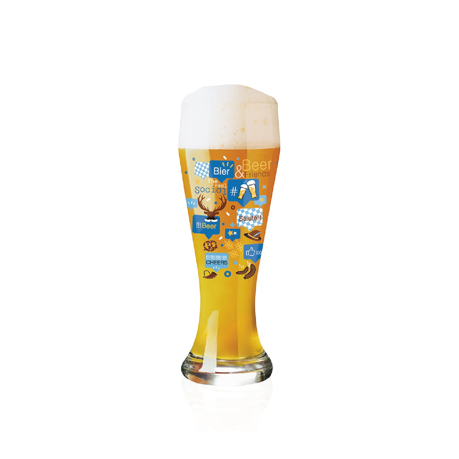 RITZENHOFF 小麥胖胖啤酒杯 / WEIZEN