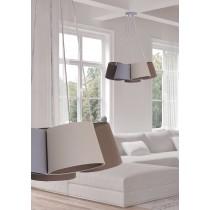 亞麻布5吊燈-BNL00004