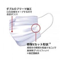 日本IRIS大容量摺型3層不織布口罩