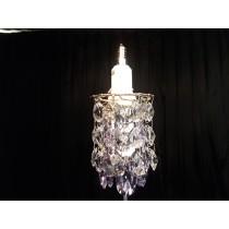 優利德 Swarovski ® 迷你粉紫水晶燈